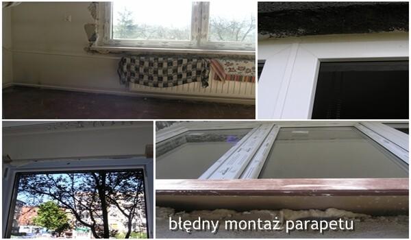 błędy montażowe okien podgląd finestre