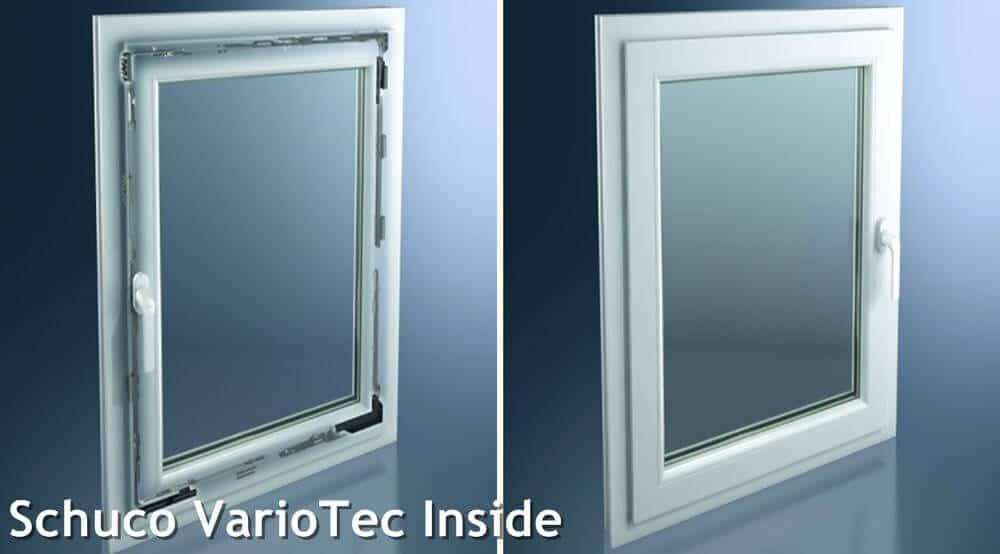 okno schueco variotec finestre
